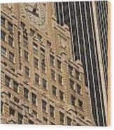 Paramount Building Wood Print