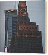 Paramount Building Times Square Wood Print