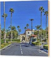 Paramount Movie Studio Hollywood Ca 3 Wood Print