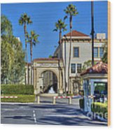 Paramount Movie Studio Hollywood Ca 4 Wood Print