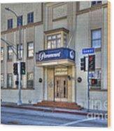 Paramount Movie Studio Hollywood Ca Wood Print