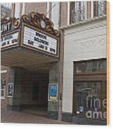 Paramount Theater Wood Print