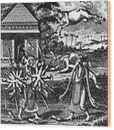Parasurama, Sixth Avatar Of Vishnu Wood Print