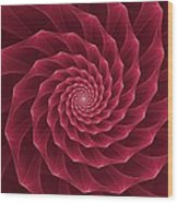 Parawanji Fractal Vortex Wood Print