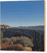 Pardee Dam Wood Print