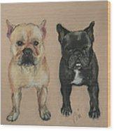 Pardon My French Wood Print