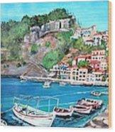 Parga In Greece Wood Print