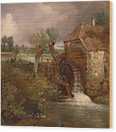 Parham Mill Wood Print
