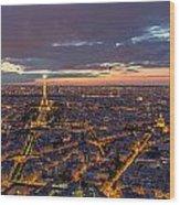 Paris - Tour Montparnasse 2 Wood Print