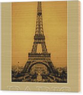 Paris 1889  Wood Print by Andrew Fare