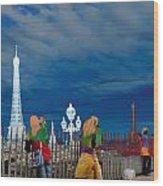 Paris 71 Wood Print