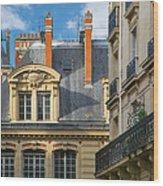Paris Architecture Wood Print