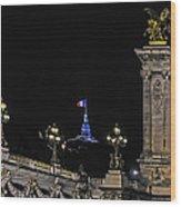 Viva La France Wood Print
