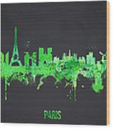 Paris France Wood Print