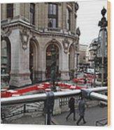 Paris France - Street Scenes - 0113115 Wood Print