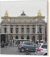 Paris France - Street Scenes - 121246 Wood Print