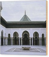 The Paris Mosque Wood Print