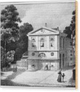 Paris Theatre Royal Wood Print