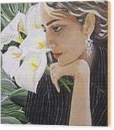 Parisa Wood Print