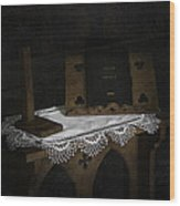 Parish Church Book Wood Print