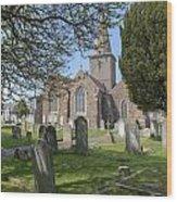 Parish Church St Martin - Jersey Wood Print
