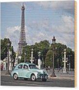 Parisian Charm Wood Print