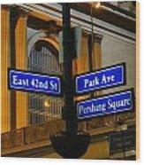 Park Avenue Wood Print