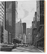 Park Avenue In New York City Wood Print