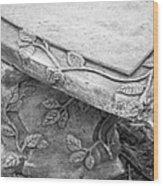 Park Bench 1 Wood Print