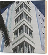 Park Central Building - Miami Wood Print