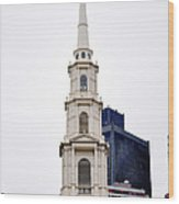 Park Street Church Boston Massachusetts Wood Print