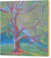 Park Trees 8 Wood Print