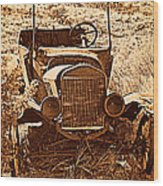 Parked 2 Wood Print