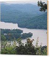 Parksville Lake Wood Print