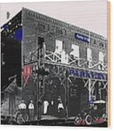 Parkview Hotel Tucson Arizona C. 1908-2011 Wood Print
