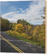 Parkway Milepost 357 Wood Print