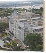 Parlament Quebec  Wood Print