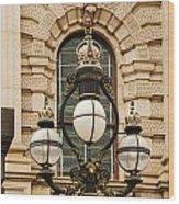 Parliament Lights Wood Print