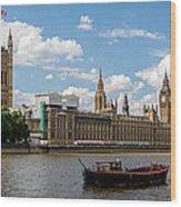 Parliament Wood Print