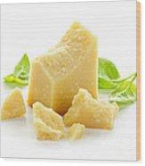 Parmesan Cheese Wood Print