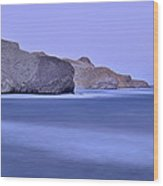 Parque Natural Cabo De Gata Almeria Spain Wood Print