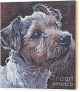 Parson Russell Terrier Wood Print