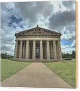 Parthenon Wood Print