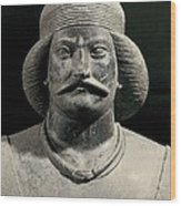 Parthian Warrior From Shami. 1st C Wood Print by Everett