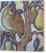 Partridge In A Pear Tree 1 Wood Print