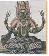Parvati, From Voyage Aux Indes Et A La Wood Print