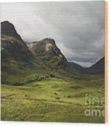 Pass Of Glencoe - D002455 Wood Print