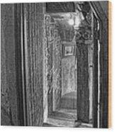 Passageway At Fonthill Castle Wood Print