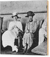 Passengers On Ship, 1912 Wood Print
