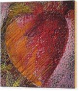 Passion Heart Wood Print
